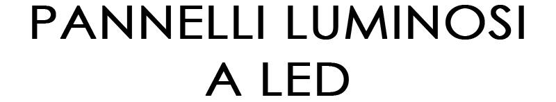 PANNELLI-LUM-W
