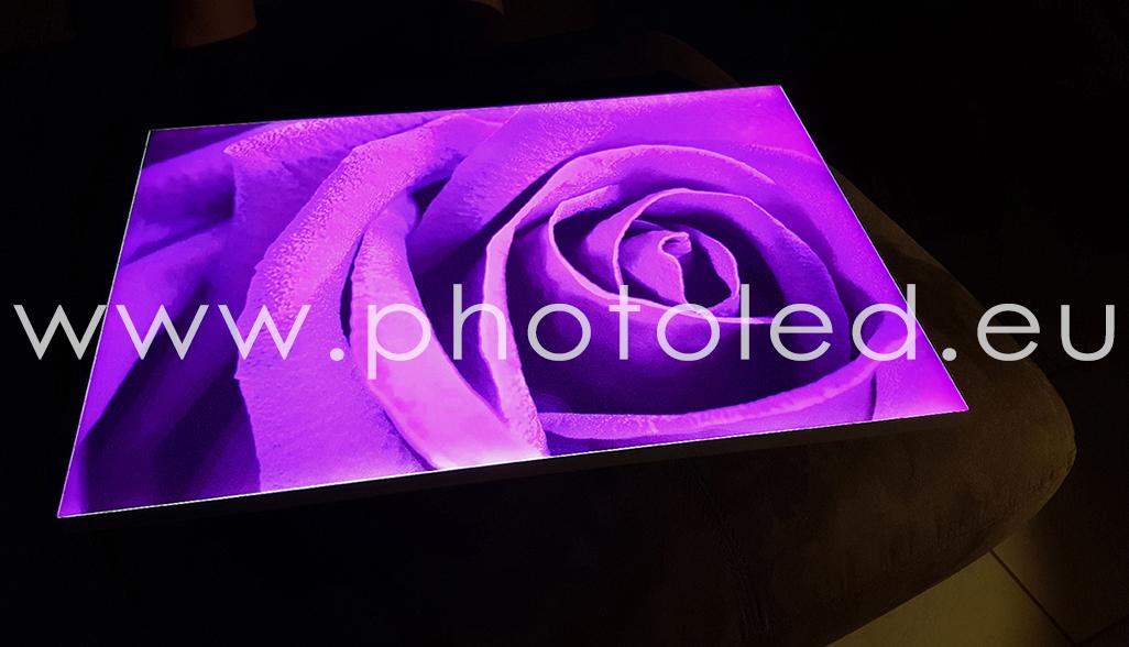Realizzazione pannelli LED personalizzati ModernArt PHOTOLED